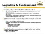 logistics sustainment