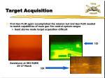 target acquisition