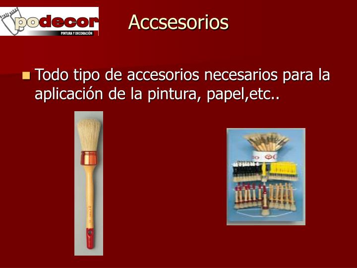 Accsesorios
