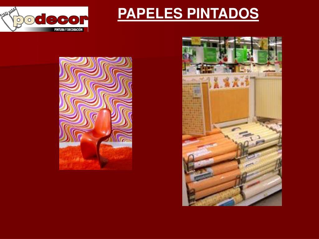 PAPELES PINTADOS