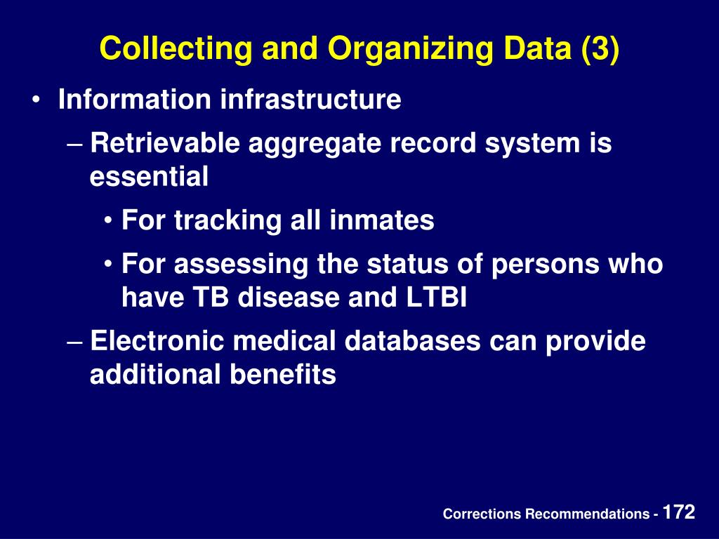 Collecting and Organizing Data (3)