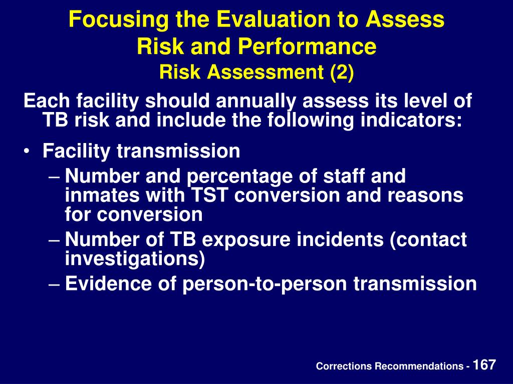 Focusing the Evaluation to Assess