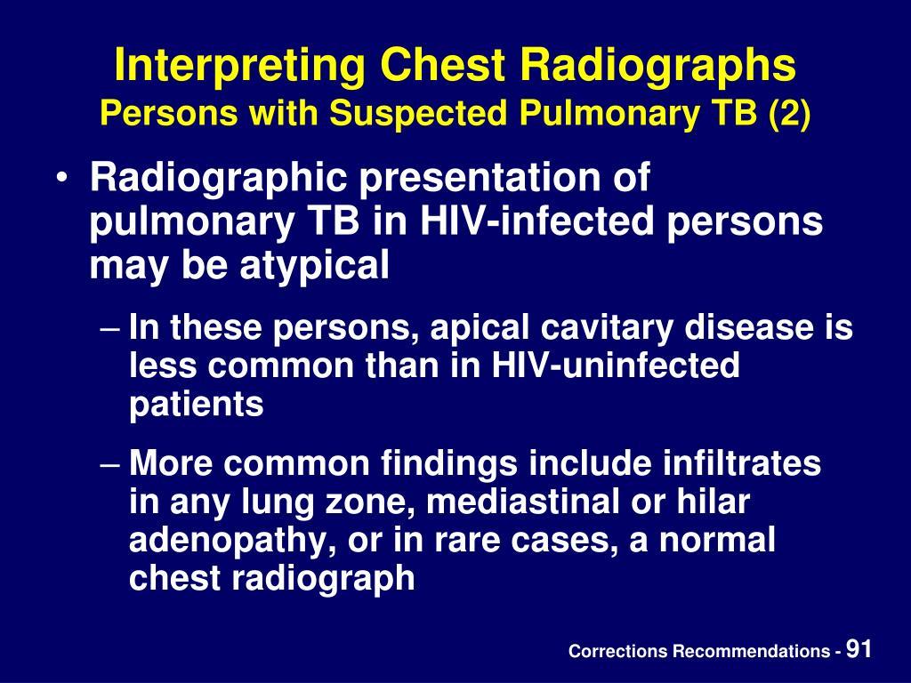 Interpreting Chest Radiographs