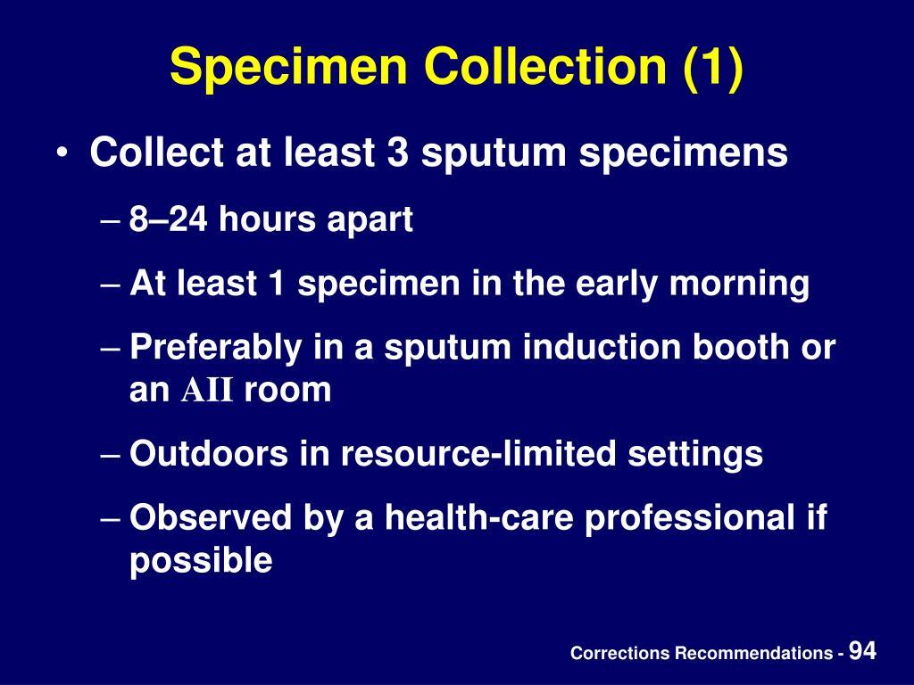 Specimen Collection (1)
