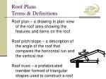 roof plans terms definitions5