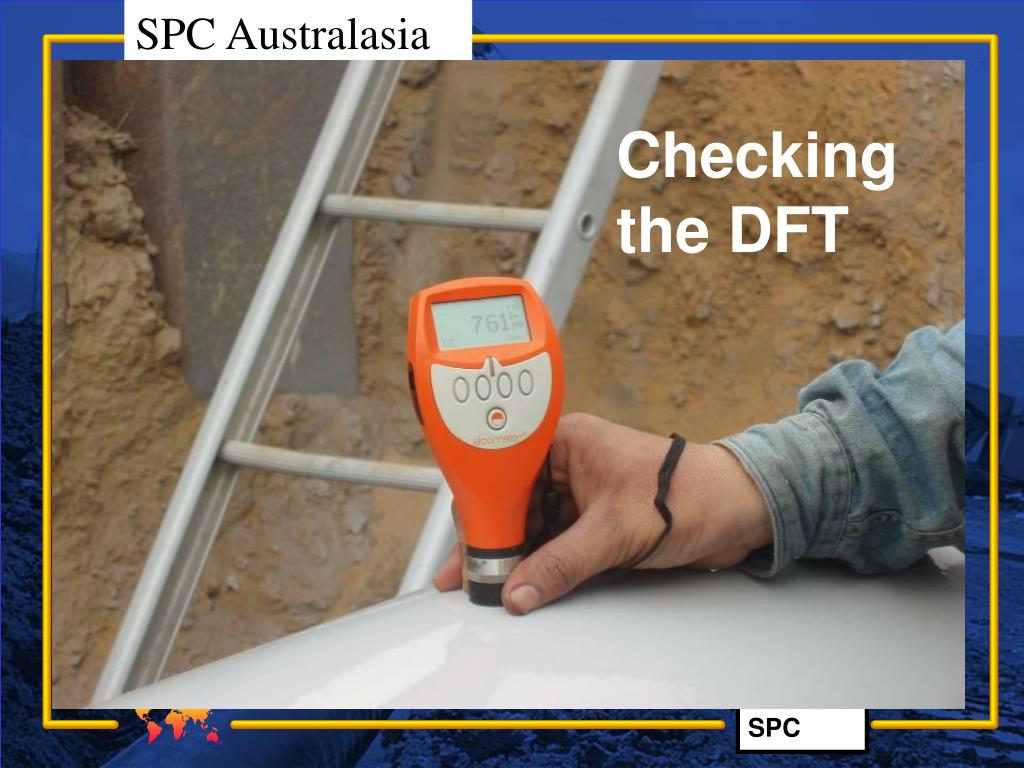 Checking the DFT