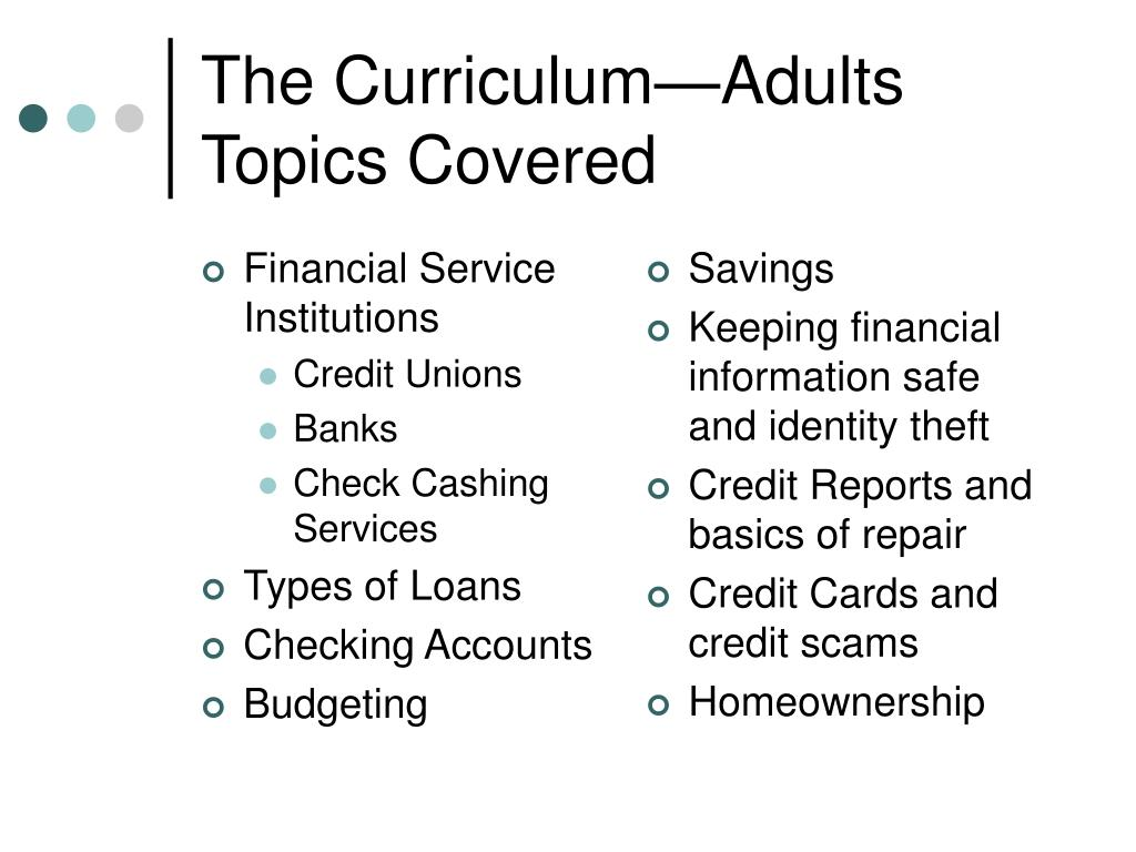 Financial Service Institutions