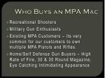 who buys an mpa mac