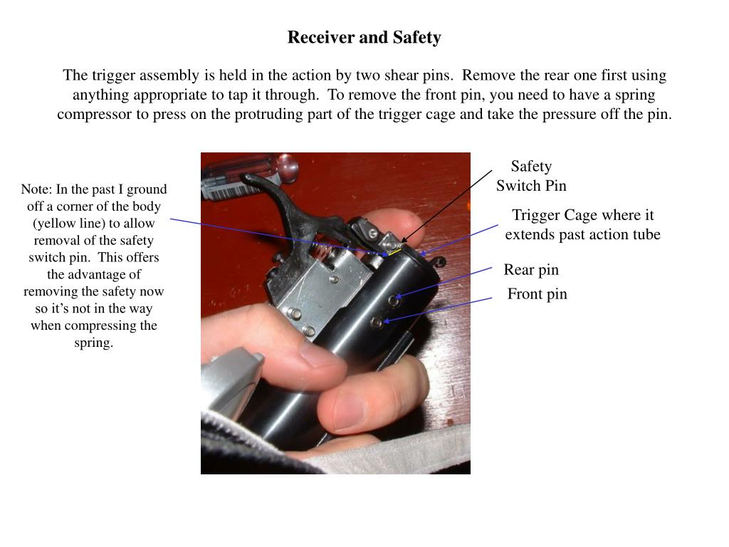 Receiver and Safety