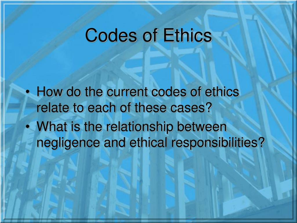 Engineering ethics case studies powerpoint