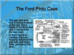 the ford pinto case4