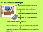 10 accounts clerk31