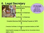 6 legal secretary27