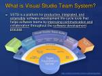 what is visual studio team system