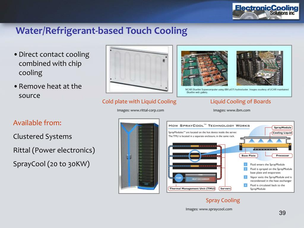 Water/Refrigerant-based Touch Cooling