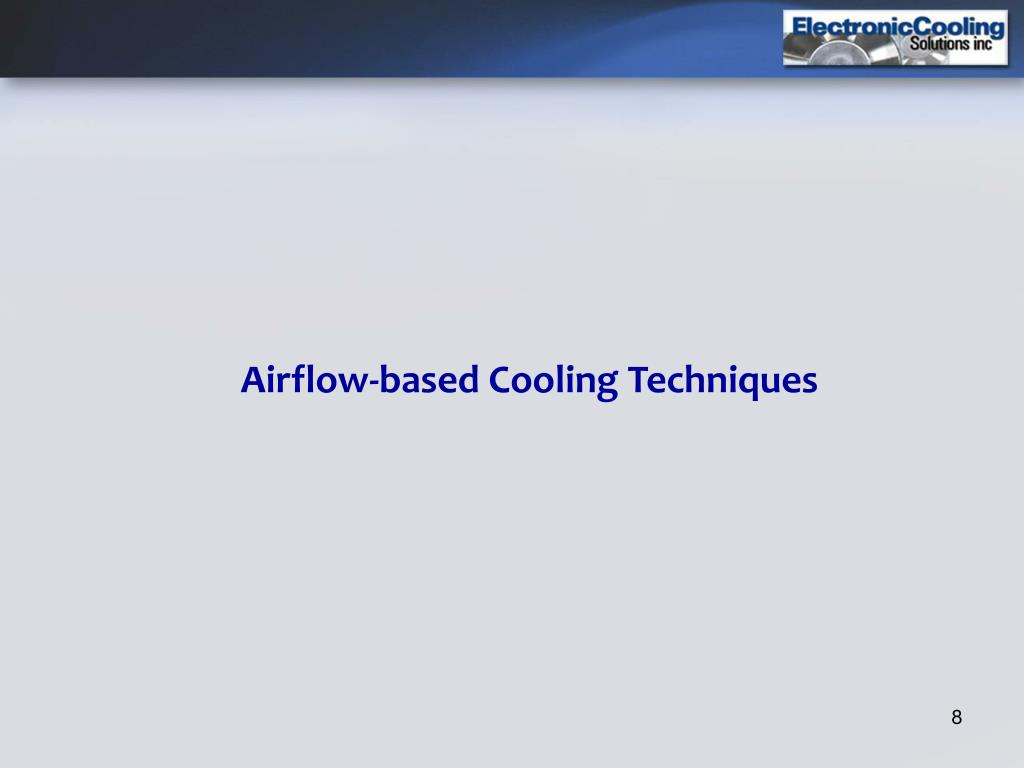 Airflow-based Cooling Techniques