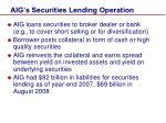 aig s securities lending operation