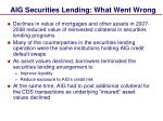 aig securities lending what went wrong