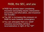 fasb the sec and you24