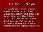 fasb the sec and you27