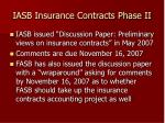iasb insurance contracts phase ii14