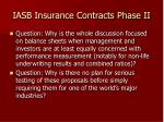 iasb insurance contracts phase ii22