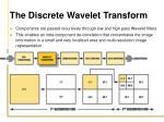 the discrete wavelet transform