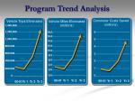 program trend analysis
