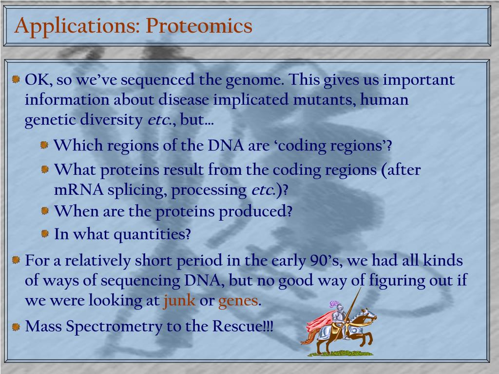 Applications: Proteomics