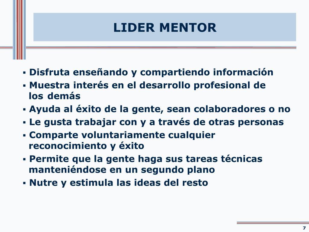 LIDER MENTOR