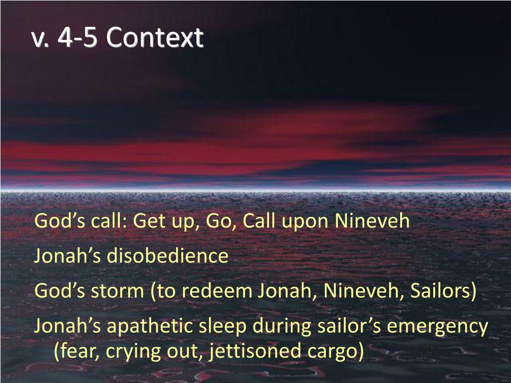 v. 4-5 Context