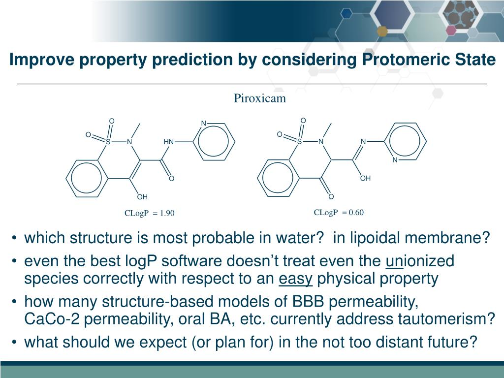 Improve property prediction by considering Protomeric State