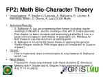 fp2 math bio character theory