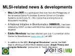 mlsi related news developments