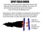 spot field cover