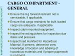 cargo compartment general