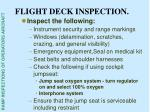 flight deck inspection34