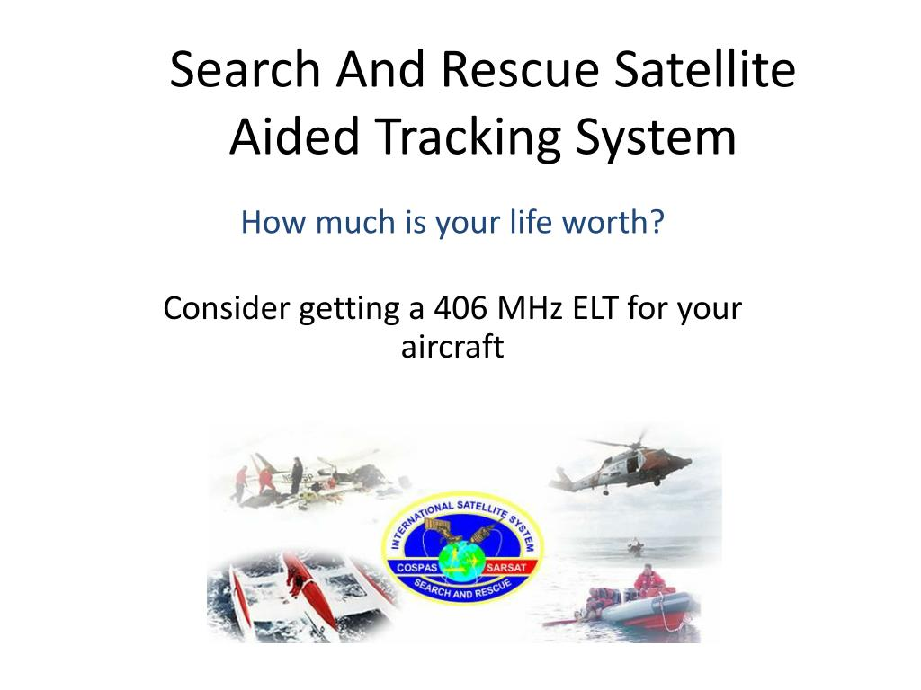 search and rescue satellite aided tracking system l.