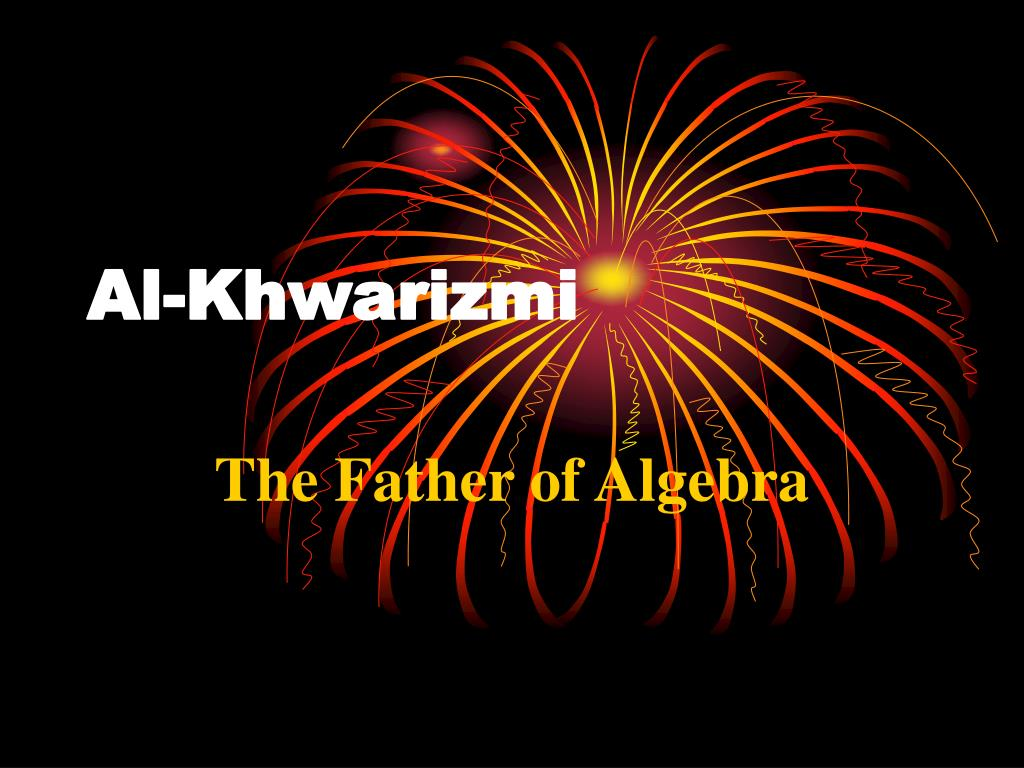 who is the father of algebra