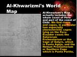 al khwarizmi s world map
