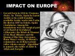 impact on europe1