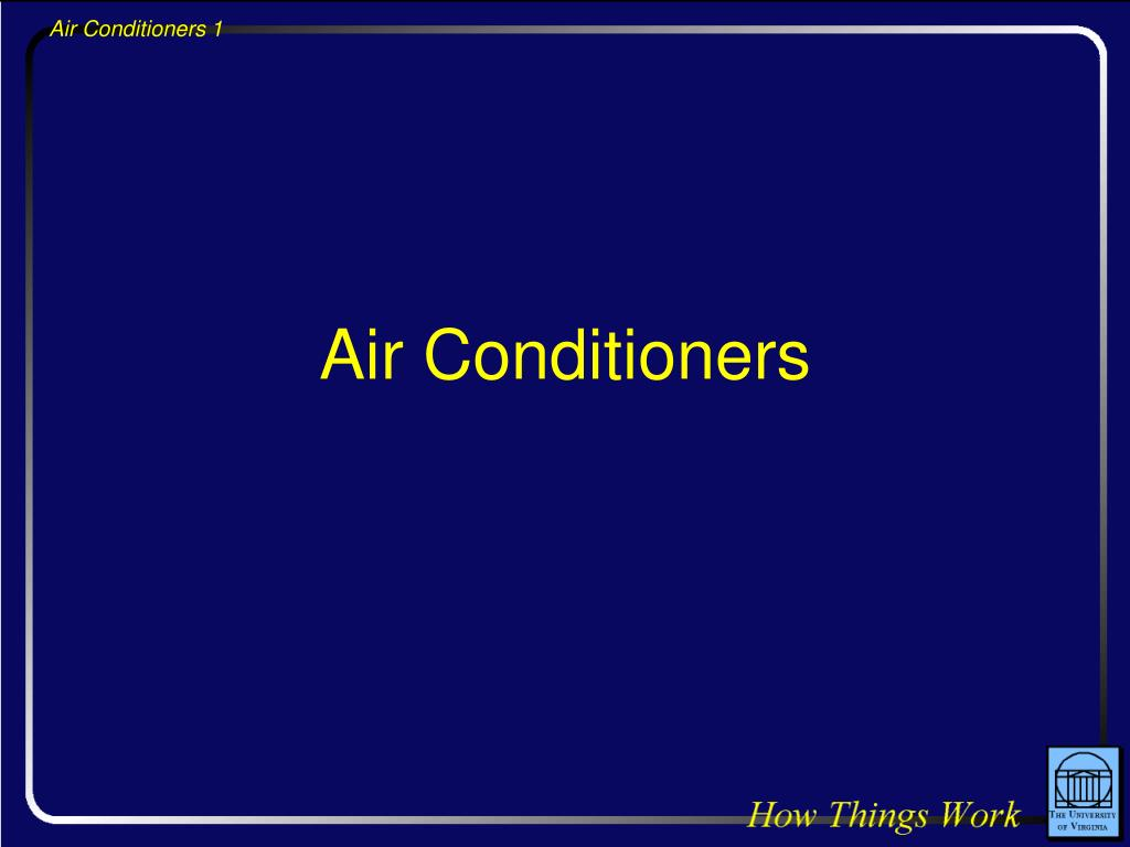 air conditioners l.