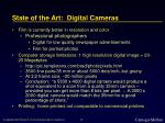state of the art digital cameras