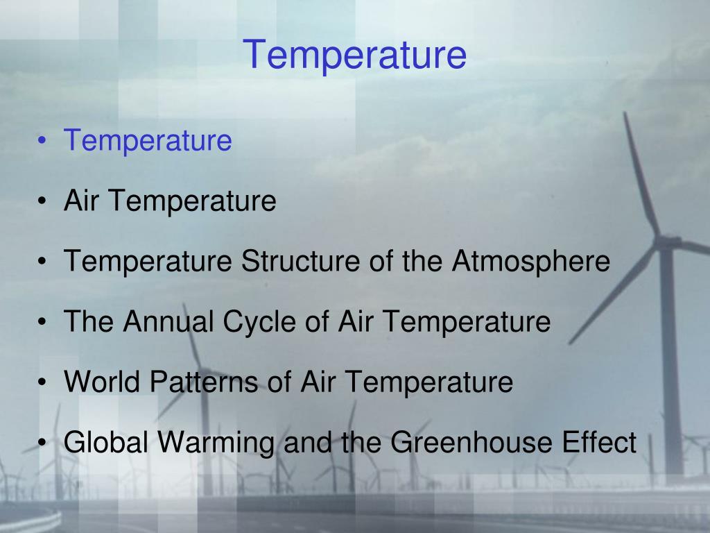 temperature l.