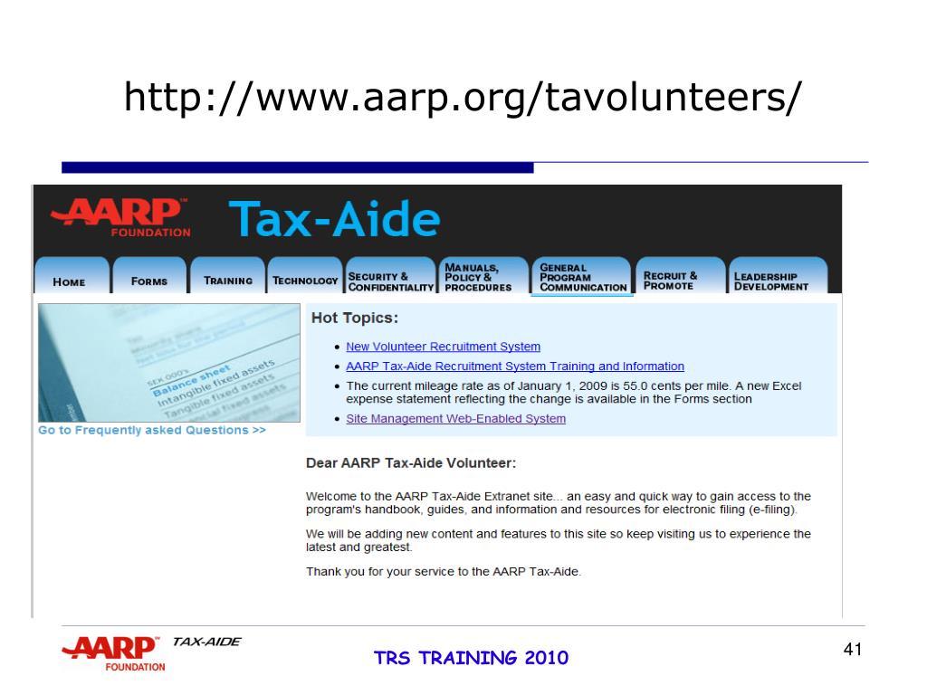 http://www.aarp.org/tavolunteers/