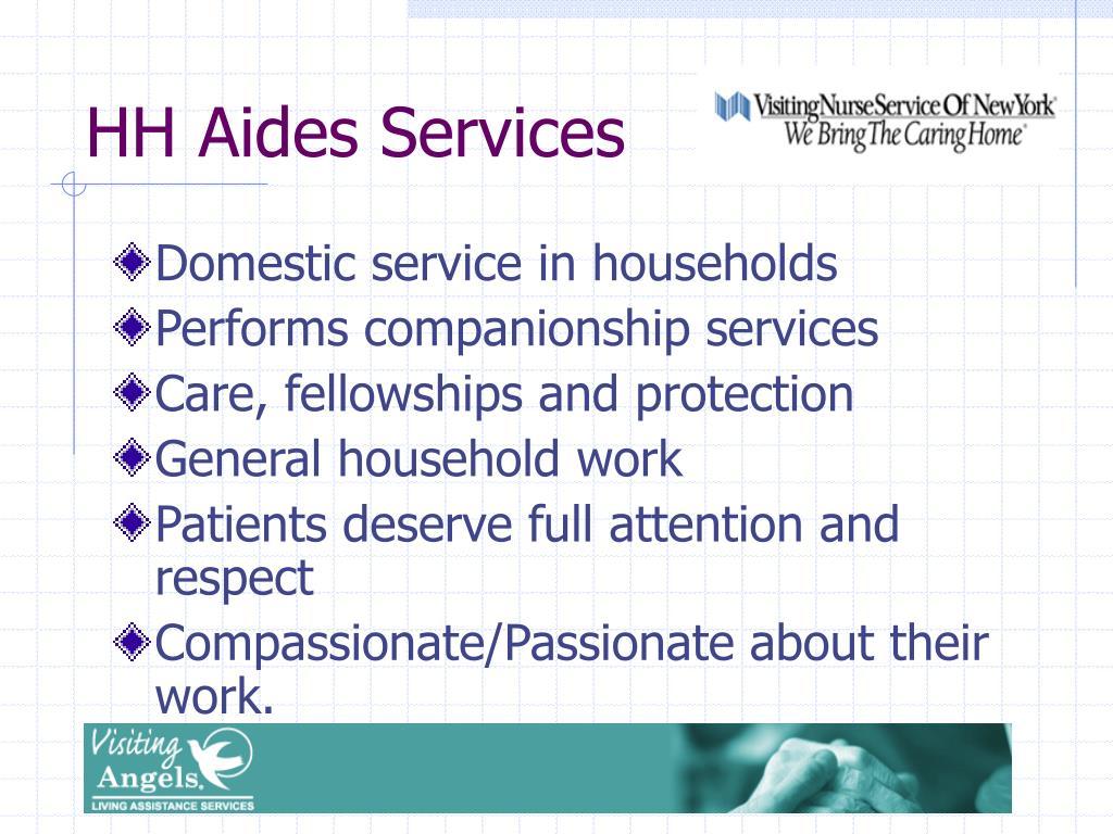 HH Aides Services