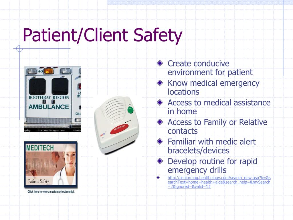 Patient/Client Safety