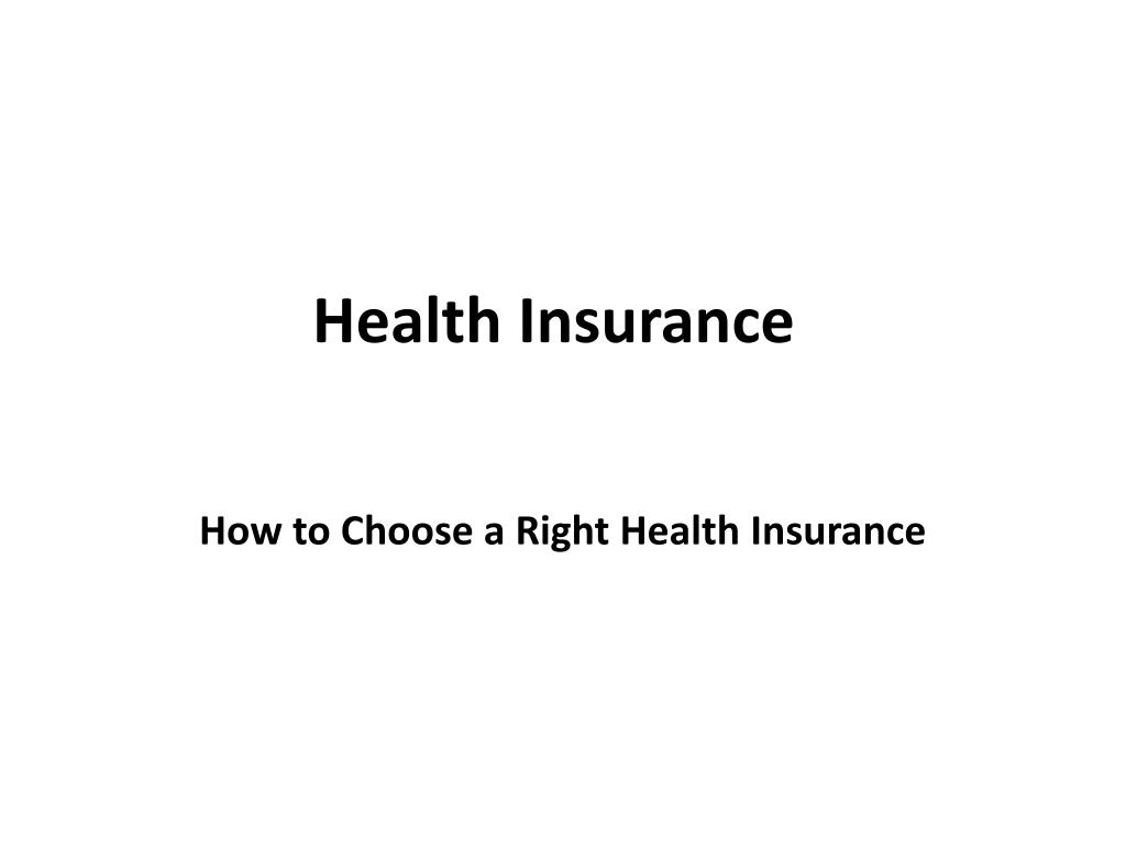 health insurance l.