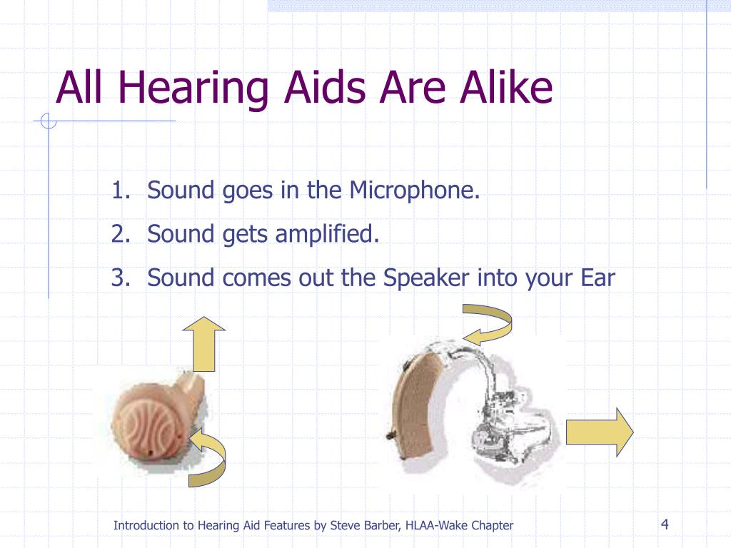 All Hearing Aids Are Alike