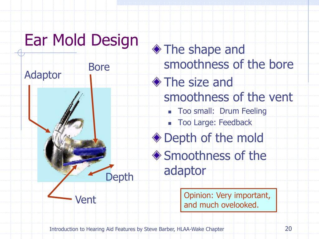 Ear Mold Design